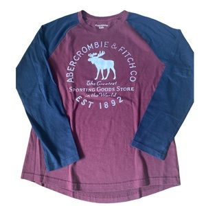 Abercrombie & Fitch Boys 13/14 Long Sleeved T